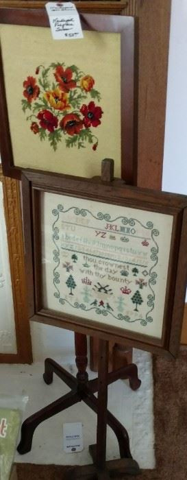 Needlepoint Fire Screens