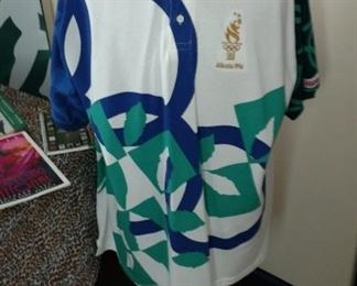 Olympic Shirt and Reebok Shoes
