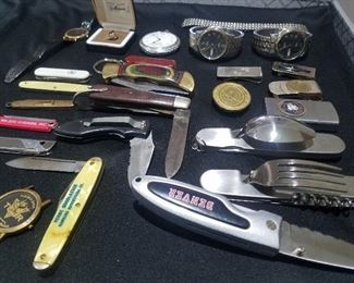 Vintage knife collection