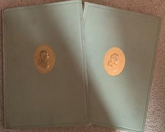 TWO VOLUMES OF THOMAS JEFFERSON ARCHITECTURE