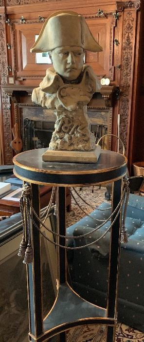 BUST OF NAPOLEON ON FRENCH STYLE STAND