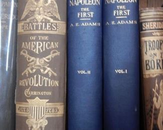 ANTIQUE MILITARY TOMES