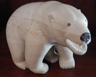 LARGE INUIT CARVING