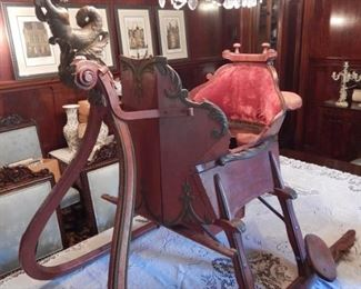 SPECTACULAR ANTIQUE SLED