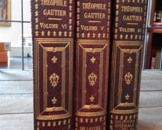 PART OF LARGE SET OF LEATHER BOUND BOOKS