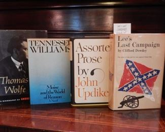 AUTOGRAPHED FIRST EDITION BOOKS