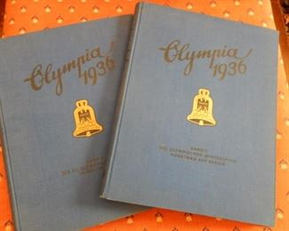 TWO VOLUMES OF 1936 OLYMPICS