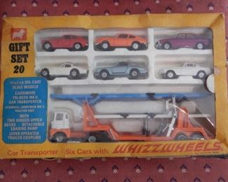 VINTAGE TOY CARS IN BOX