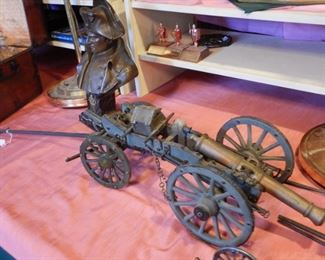 EARLY 19TH C SCALE MODEL FRENCH ARMAMENT
