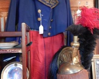LATE 18TH - 19TH C POSSIBLY MILITARY UNIFORM