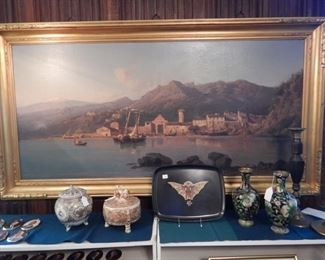 NUMEROUS FRAMED OILS-THIS ONE AND ANOTHER  BY A. LAVOLPE