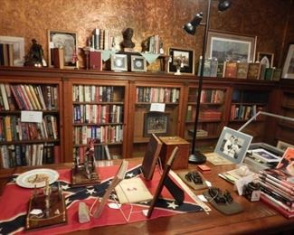 PRESIDENTIAL AND MILITARY GROUPS INCLUDING BOOKS, BUSTS, MEMORABILIA AND MORE