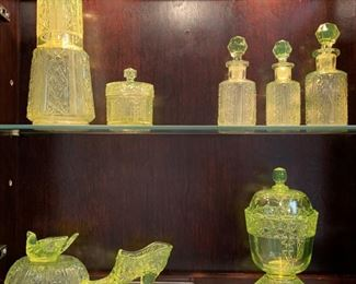 Vaseline Glass Collection