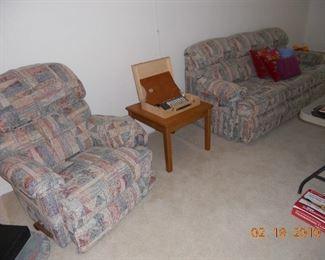 La-Z-Boy Recliner and Sofa