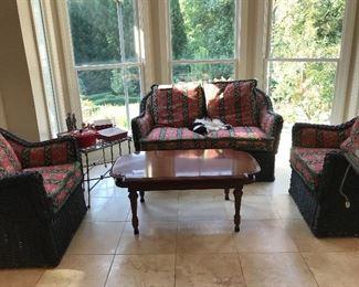 Sunroom furniture  4 pcs.