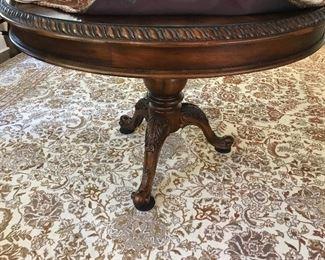 """Baker round table.  42"""" diameter"""