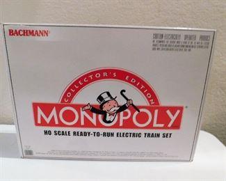 Monopoly Train Set NIB