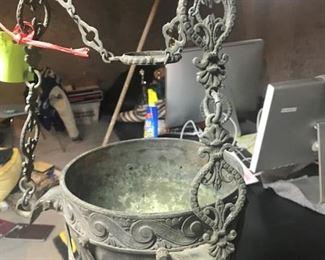Antique Bronze Urns