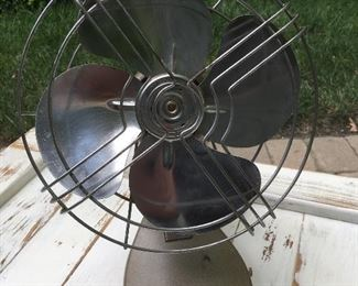 Vintage, industrial desk fan