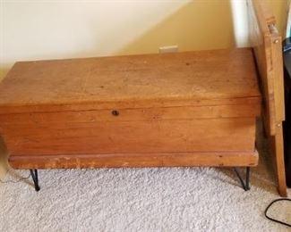 Old handmade box