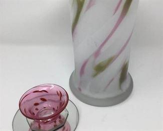 Kosta Boda Vase & Bowl https://ctbids.com/#!/description/share/214753