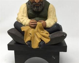 Vts. Kaplan Judaica Chalk Sculpture (1970) https://ctbids.com/#!/description/share/215132