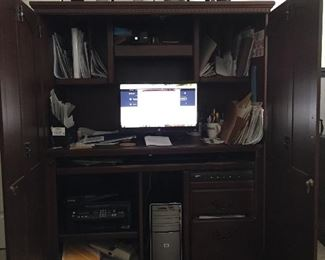 Another view of  Computer Hutch