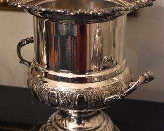 Cartier silver-plate champagne bucket