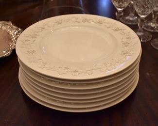 Wedgewood dinner plates