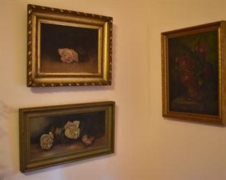 Antique still life paintings