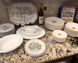 Coalport Countryware, Tiffany & Co. herbs plates, English platter, Spode china and more