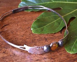 Antique sterling headband, tiara