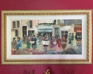 Zule Moscowitz Painting