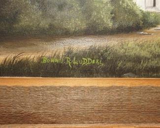 Small painting by Bonnie Leddeke