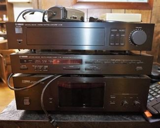 Yamaha stereo equipment