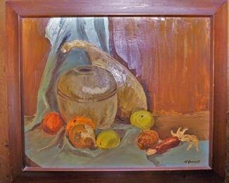 Painting by H. Garrett