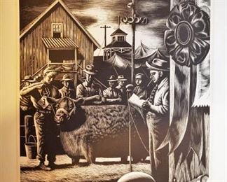 """Steven Dohanos """"State Fair"""" art print from 1948"""