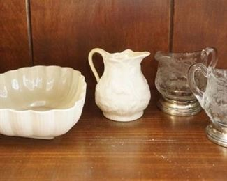 Belleek porcelain and more