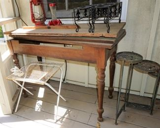 Antique table for a project