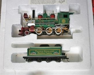 Thomas Kinkade HO gauge engine