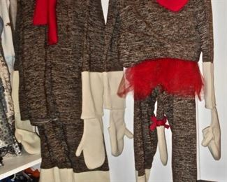 Darling Sock Monkey Costumes