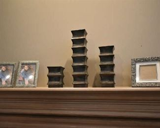 CANDLE HOLDERS, PHOTO FRAMES