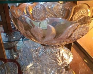 A punch bowl extravaganza collection..there are over a 1000 punch bowls..