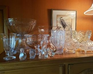 Crystal, Cut Glass, Lead Crystal, Glass, etc. ...and of course Punch Bowls