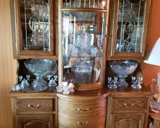 One of the many wonderful Curio/Display/Gallery Cabinets