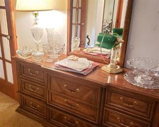 Credenza Dresser with Mirror