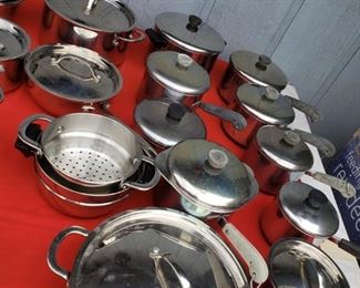 Revere Ware and other cookware