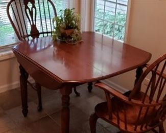 Nichols & Stone table and chairs
