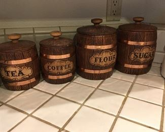 Treasure craft canisters