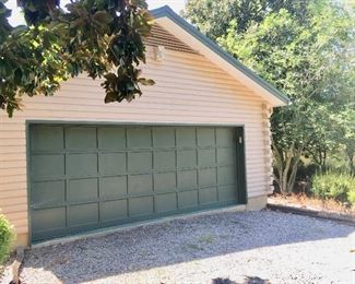 25' by 35' detached garage  with aluminum roof